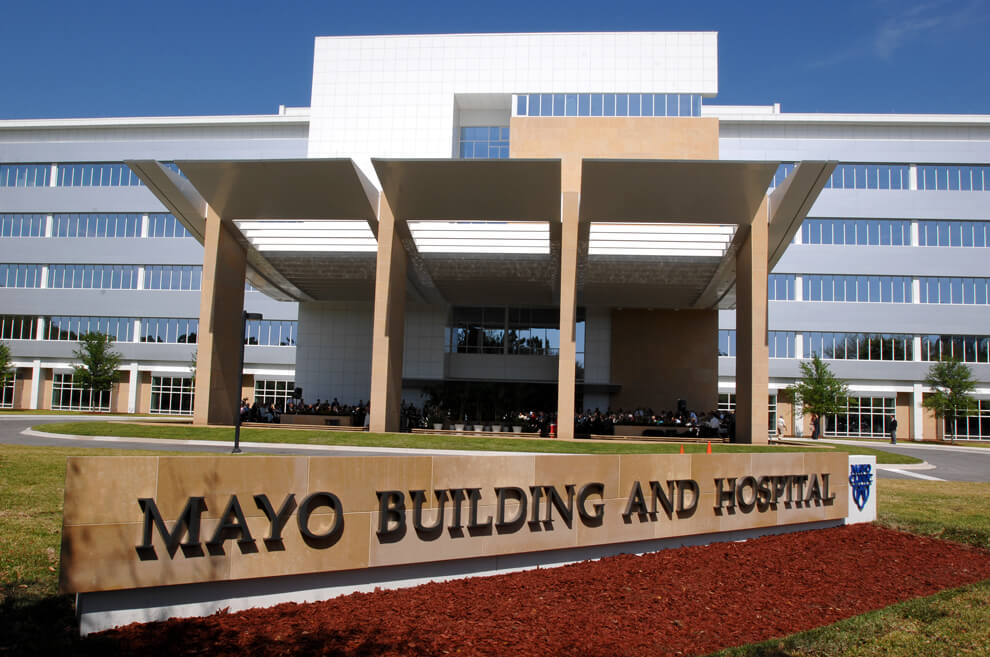 Mayo Clinic Destination Hospital Building